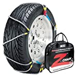 Security Chain Company Z-579 Z-Chain Extreme Performance Cable Tire Traction Chain – Set of 2