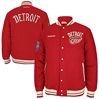 NHL Detroit Red Wings Reebok Winter Classic Varsity Jacket (L)