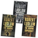 Robert Ludlum The Bourne Trilogy Collection 3 Books Set Pack New RRP: £20.97 (The Bourne Ultimatum, The Bourne Supremacy, The Bourne Identity) Robert Ludlum