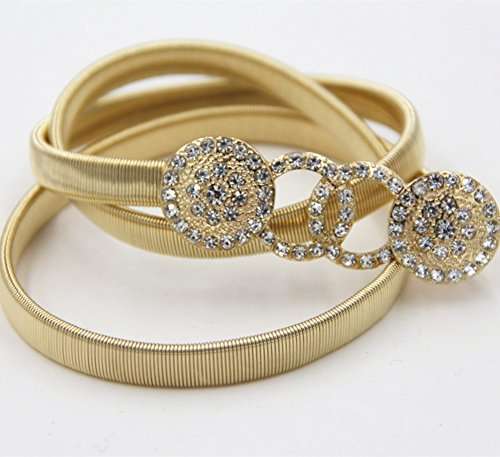 L_U_W Special new Korean high-grade diamond ladies accessories exclusive alloy metal waist chain belt can Fashionable