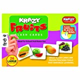 Krazy Fruits - Hindi Flash Cards With Ring
