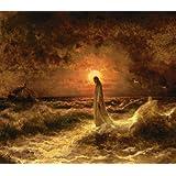 """Christ Walking on the Waters By Julius Sergius Von Klever - 11"""" X 14"""" Canvas Print"""