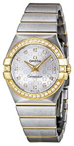 Omega Women's 123.25.27.60.52.002 Constellation Diamond Silver Dial Watch