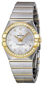 Omega Women's 123.25.27.60.52.002 Constellation Diamond Silver Dial Watch