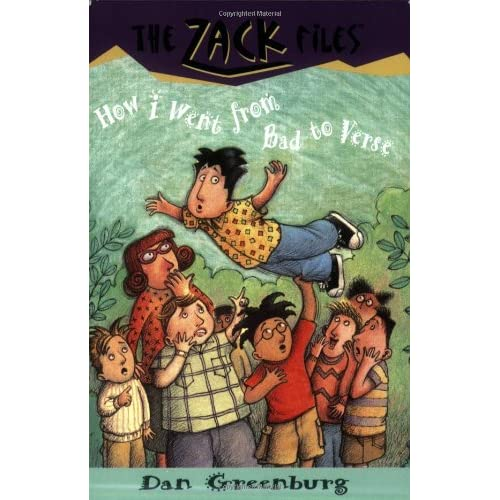 Zack-Files-20-How-I-Went-from-Bad-to-Verse-Greenburg-Dan-Author-Davis-Jack