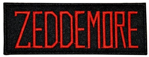 Ghostbusters Movie Zeddemore Uniform Name Chest Patch front-777676