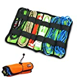Damai Universal Wrap Cable/pens Organizer Stable (Large Orange)