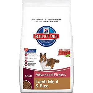 Hill's Science Diet Adult Active Longevity Lamb Meal & Rice Recipe Dry Dog Food, 33-Pound