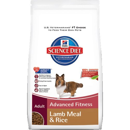 Hill's Science Diet Adult Lamb Meal and Rice Recipe Dry Dog Food, 33-Pound