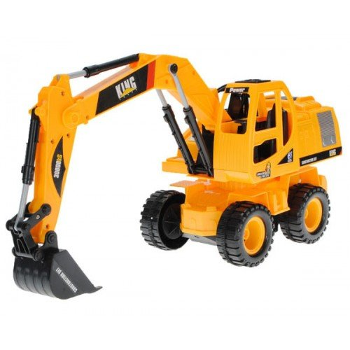 Big Bargain King Force 6804 Electric 5CH Excavator Remote Control RC Construction Truck
