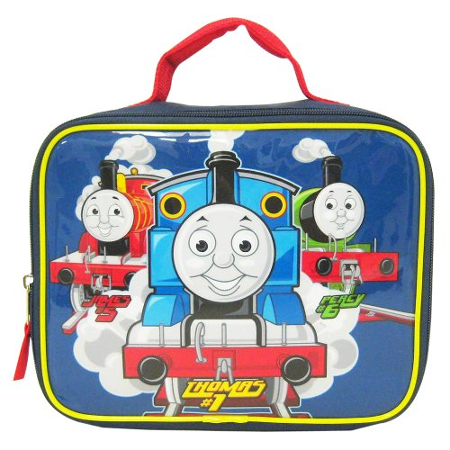 Thomas the Train Boys Blue Square School Lunchbox