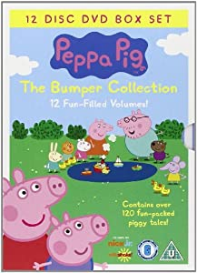 Peppa Pig Bumper Pack 12 Disc (Vol 1-12) [Region 2] [ UK Import]