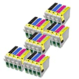 24 Epson 18 XL Series Compatible Ink Cartridges. 6 Full sets of T1816 For Expression Home XP-102 XP-202 XP-212 XP-215 XP-205 XP-30 XP-302 XP-305 XP-312 XP-315 XP-402 XP-412 XP-415 XP-405 XP-405WH