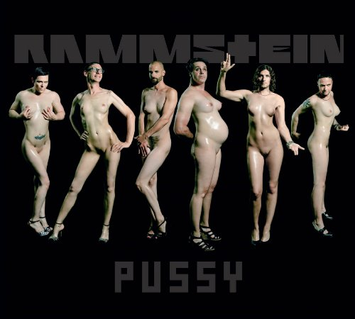 Rammstein Pussy Single cover