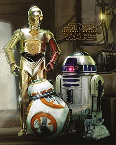 Star Force: The Force Awakens R2-D2 and C-3PO