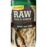Better Oats Organic Raw Steel Cut Oats 30 Oz (Pack Of 2)