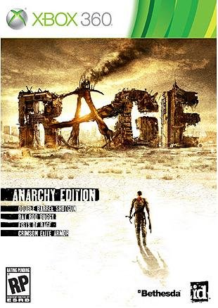 RAGE with Pre-Order Bonus Anarchy Edition