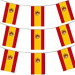 33FT 10 METERS SPANISH FLAG BUNTING S...