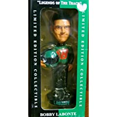 Bobby LaBonte Limited Edition Collectible Bobblehead Legends of the Track by Forever... by Forever Collectibles