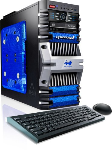 CybertronPC Fortress IV Gaming PC (Blue)