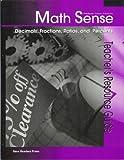 img - for Decimals, Fractions, Ratios, and Percents (Math Sense) book / textbook / text book