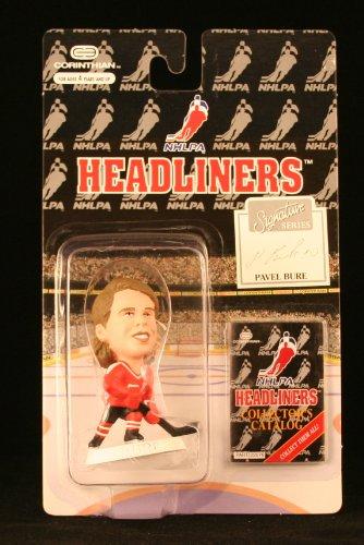 PAVEL BURE / NHLPA SIGNATURE SERIES * 3 INCH * 1996 NHL Headliners Hockey Collector Figure