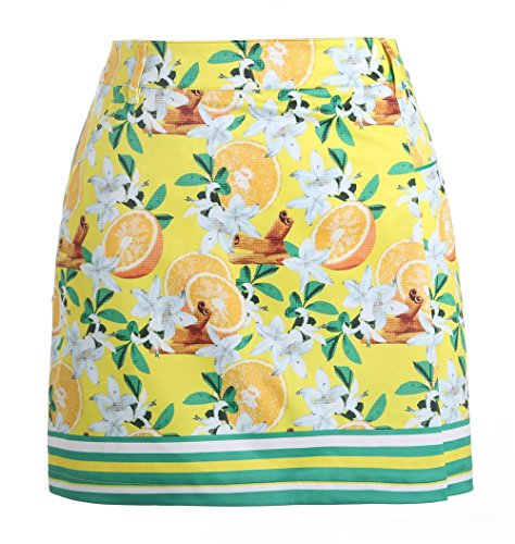 SVG Women's Summer Fruint Printed Short Golf Skirt