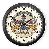 Rainbow Man Round Acrylic Wall Clock