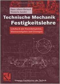 Technische mechanik festigkeitslehre manuela sander for Technische mechanik lernvideos