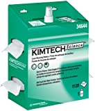 """Kimberly-Clark Kimtech Science 34644 Kimwipes Lens Cleaning Station POP-Up Box Disposable Wiper, 8-25/64"""" Length x 4-25/64"""" Width, White (4 Packs of 4)"""