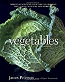 Vegetables, Revised book cover with a large head of green cabbage on a black background.