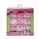 150pc Disney Licensed Minnie Mouse Bowtique 9 Roll Art Kids Sticker Box Set by Disney