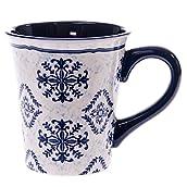 Blue Print Ceramic Mug