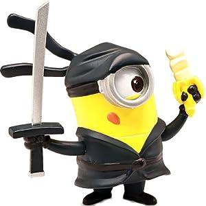 .com: Despicable Me 2 - Minion Ninja - Posable Figure: Toys & Games