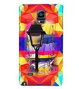 PRINTVISA Abstract Lamp Case Cover for Samsung Galaxy Note 4
