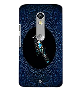 PrintDhaba Pattern D-4168 Back Case Cover for MOTOROLA MOTO X PLAY (Multi-Coloured)