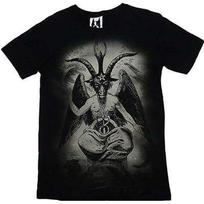 おもしろ ジョーク Tシャツ バフォメット Baphomet (Mサイズ)