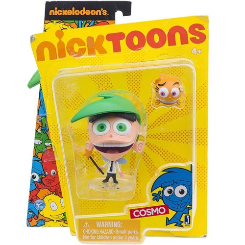 Nicktoons Fairly Odd Parents 3 Inch Action Figure - Cosmo - 1