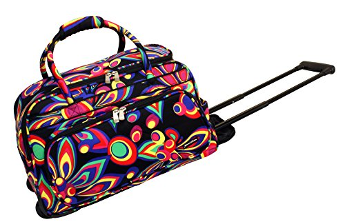 jenni-chan-wild-flower-deluxe-carry-all-rolling-duffel-multi-color-one-size