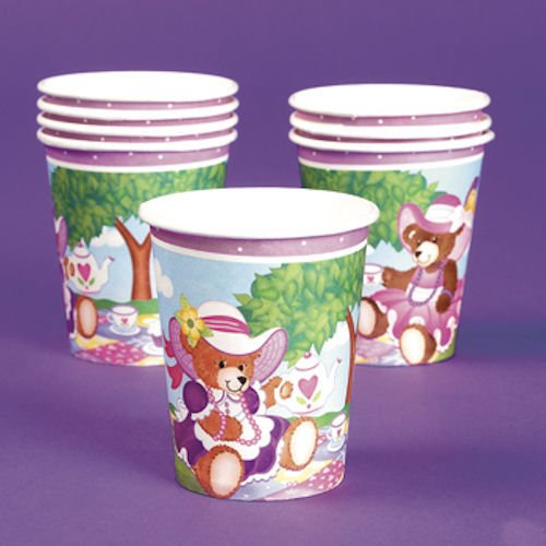 Teddy Bear Tea Party Cups