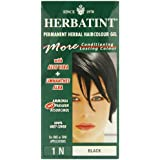 Herbatint 1N Black Permanent Herbal Hair Colour Gel 135ml