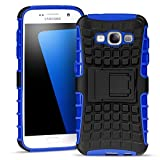 Samsung Galaxy Grand Prime Outdoor Hülle Case in Blau