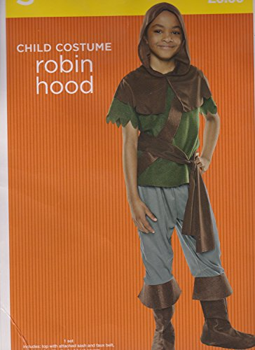 Robin Hood Child Costume Size Small Boy (4-6)