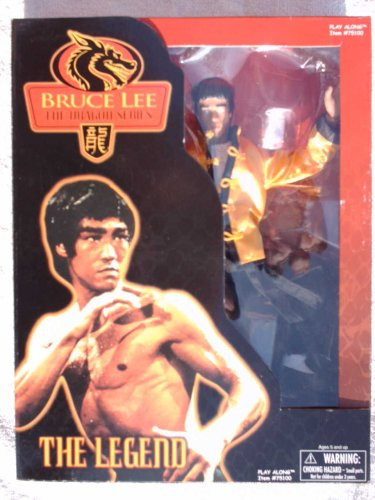 Picture of Play Along Bruce Lee the Dragon Series The Legend 12 Inches Tall Action Figure (B001NRSBU0) (Play Along Action Figures)