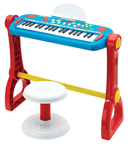 Fisher Price Play Along Keyboard With Stool Arts