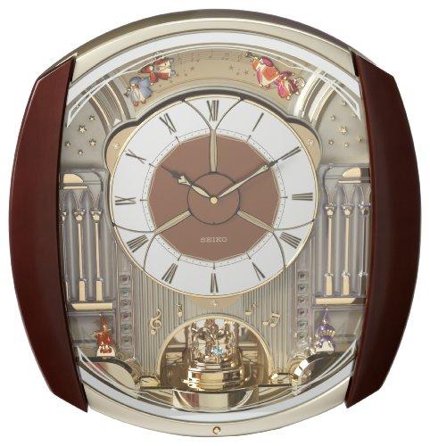 Lowest Seiko Qxm450brh Melody In Motion Clock Crytoplikj