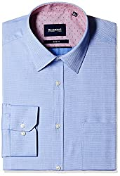 Blackberrys Men's Formal Shirt (8907196468473_MSDOC17ABEN08BPQ_42_Air Blue)