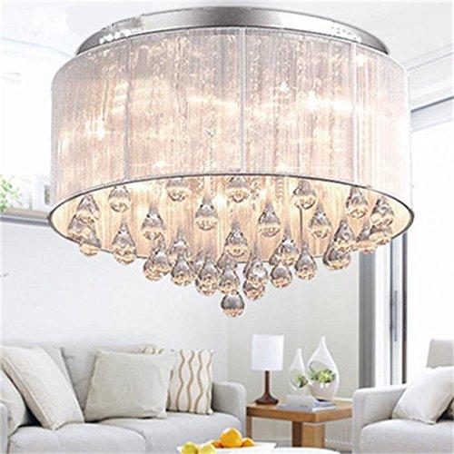 Sun lamps-Romantische kreisförmig modernen minimalistischen Wohnzimmer-Lampe LED-Kristalldeckenlampe