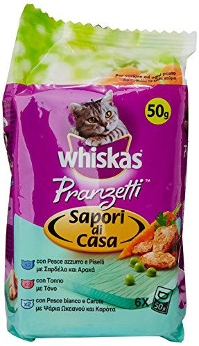 Whiskas Pranzetti Di Casa Pesce Gr.50X6