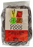 Mintons Good Food Pre-packs Organic Dates Pitted (Pack of 5)
